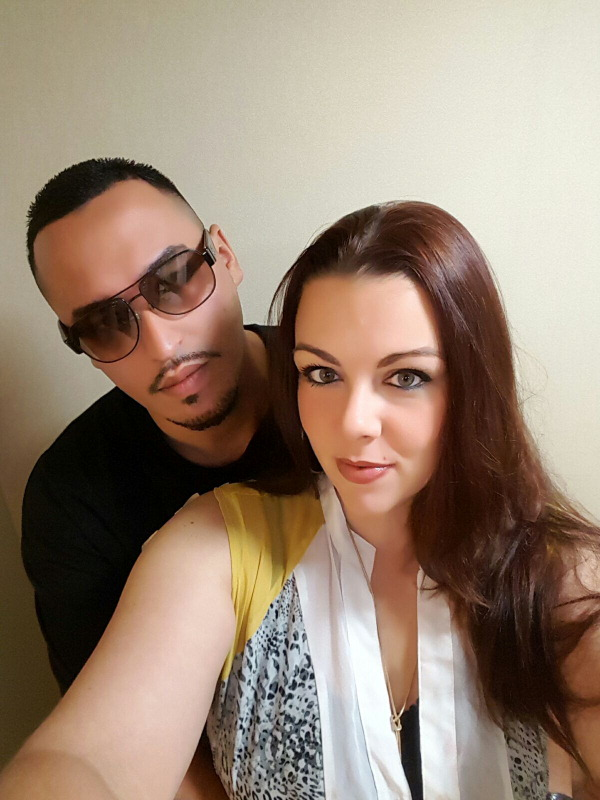 Natasha Nightingale and Malik Yafi