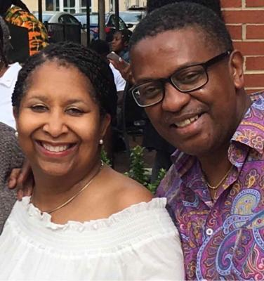 June McKinney and Reginald Riley