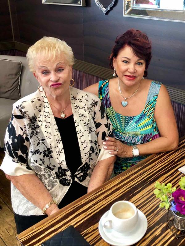 Liane Lam and Gerda Chu